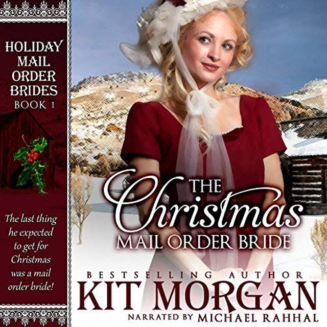 The Christmas Mail Order Bride - Audible Link